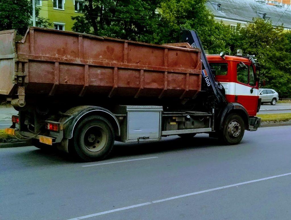 Вывоз мусора контейнер 20 м3 Москва