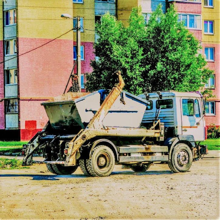 Контейнер 8 м3 для вывоза мусора в Москве и области